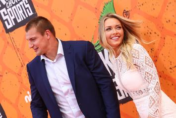 """Rob Gronkowski's Girlfriend Calls Him """"Best That Has Ever Played The Game"""""""