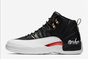 "Air Jordan 12 ""Reverse Taxi"" Rumored To Debut This Fall"