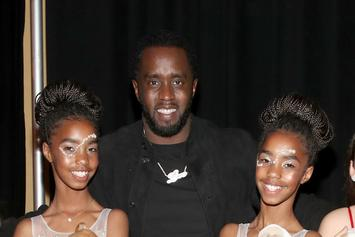 Diddy's Daughters Are Diana Ross' Backup Dancers For Birthday Celebration