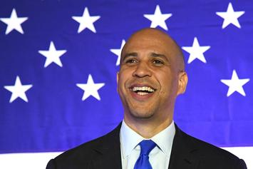 Cory Booker Says He Was All Kinds Of Nervous To Ask Rosario Dawson Out