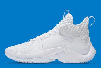 "Russell Westbrook's Jordan Why Not Zer0.2 Gets ""Triple-White"" Model"
