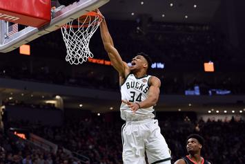 Giannis Antetokounmpo Leaves Bucks Game Early With Ankle Injury
