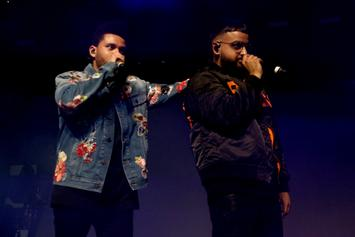 Nav Eating Pretzels To Impress Drake & The Weeknd Is The Latest Meme