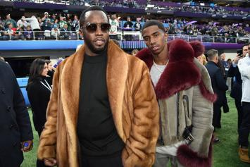 """Diddy Treats Son """"King Combs"""" To A Gold Jet Ski, In Coronation By Sea"""