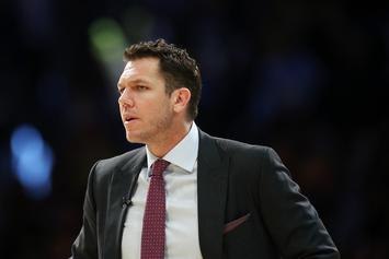 Jeanie Buss Praises Luke Walton But Won't Commit To Keeping Him