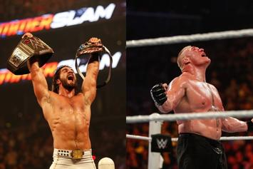 "Seth Rollins Says WWE Locker Room Is ""Done With"" Brock Lesnar"