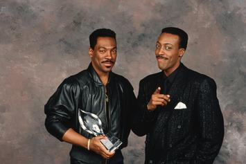 "Eddie Murphy & Arsenio Hall Reunite For First Fittings Of ""Coming To America 2"""