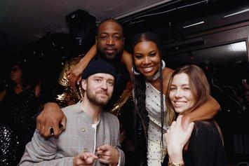 Dwyane Wade Partied With Justin Timberlake After His Final NBA Game