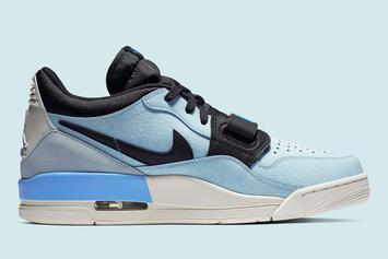 Jordan Legacy 312 Low Gets Dressed In Baby Blue: Details