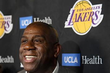 Magic Johnson Tweets Heartfelt Message To Jeanie Buss