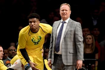 "Milwaukee Bucks' Mike Budenholzer Named ""Coach of the Year"" By NBA Peers"