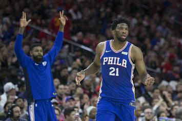 Joel Embiid & Amir Johnson Address Phone On The Bench Scandal