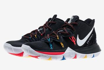 """Nike Kyrie 5 """"Friends"""" Release Date Confirmed: Detailed Images"""