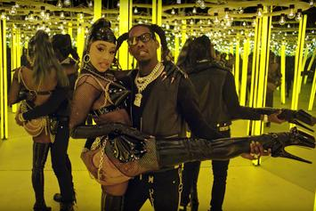 "Cardi B & Offset Release Official ""Clout"" Video"
