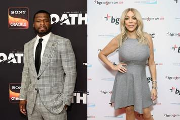 50 Cent Trolls Wendy Williams & Clowns Charlamagne For Asking Her To Dinner