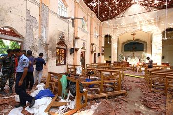 Easter Day Sri Lanka Bombings Leave Over 200 Dead & 400 Injured