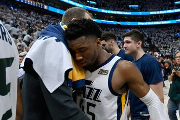 "Donovan Mitchell ""Upset"" After Rockets Series: ""I'm Going To Be Better"""