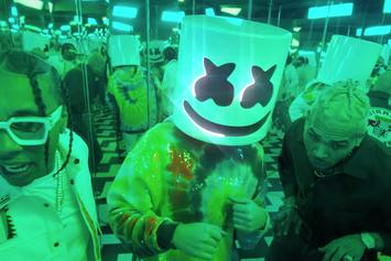 "Chris Brown, Tyga & Marshmello Are Club Stars In ""Light It Up"" Video"
