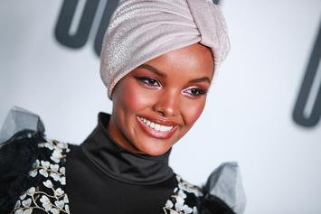 Halima Aden Becomes First Model To Wear A Hijab And Burkini In SI Swimsuit