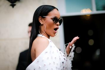 Rihanna Outdoes Herself By Rocking Bare Minimum In Lace Lingerie Photo