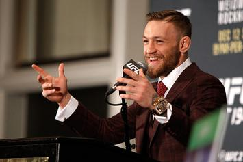 """Conor McGregor Accepts Conan O'Brien's Challenge: """"I'll Whoop You And Wahlberg"""""""