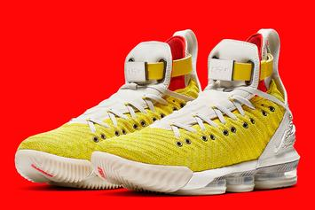 "Harlem's Fashion Row x Nike LeBron 16 Releasing In ""Bright Citron"""