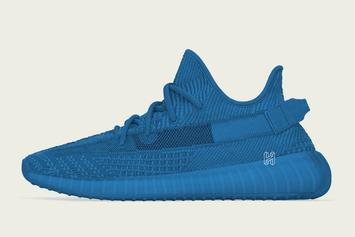 """Adidas Yeezy Boost 350 V2 Blue """"Antlia"""" Expected To Drop In June"""