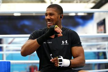 "Anthony Joshua Challenges Deontay Wilder To A Fight: ""Come See Me"""