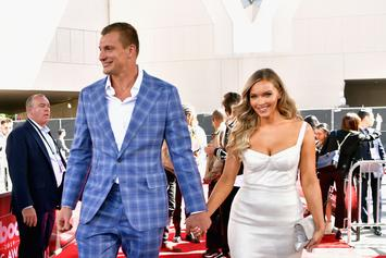 Rob Gronkowski Crushes On Camille Kostek For SI Swimsuit Cover