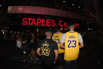 Pissed Off Lakers Fans Staging Protest Outside Of Staples Center