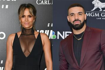 Halle Berry Shows Love To Drake After Rapper Rocks Jacket With Her Image