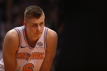 Kristaps Porzingis Jumped, Left Bloody After Club Fight In Latvia: Report