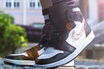 "Air Jordan 1 High OG ""Defiant"" Set For July: On-Foot Photos"