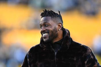 "Antonio Brown Fined $25 After Pleading Guilty To ""Driving At Safe Speed"""