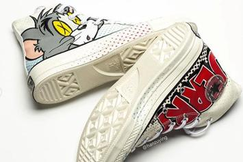 """""""Tom & Jerry"""" Converse Chuck Taylor Coming Soon: Detailed Photos"""