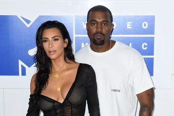 "Kim & Kanye West Very ""Hands On"" With Newborn Son, Have Little ""Help"""