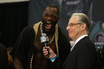 """Deontay Wilder's """"Catch A Body"""" Threat Prompts Investigation Ahead Of Fight"""