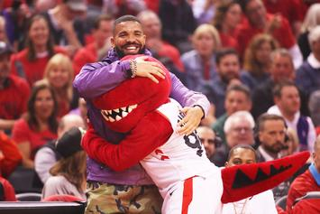 Drake Passionately Defends His Courtside Actions & Raptors Fans
