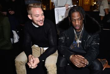 Diplo Reveals Travis Scott Ghosted 15 Text Messages