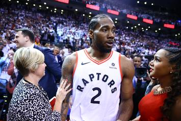 "Kawhi Leonard's Sister Unwittingly Taunts Raptors: ""He Ain't Gonna Be There Next Year"""