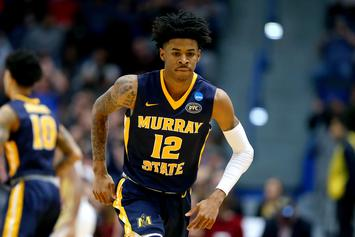 Ja Morant Is Now A Nike Athlete Thanks To Multiyear Deal: Report