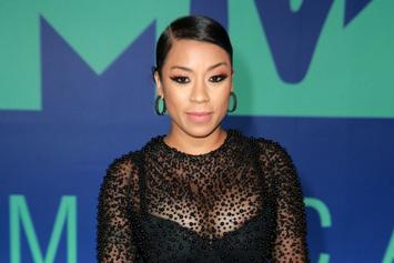 Keyshia Cole & Her Baby Bump Perform In Houston For Memorial Day Weekend