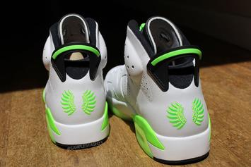 "Air Jordan 6 ""Oregon Ducks"" PE Resurfaces: New Images"