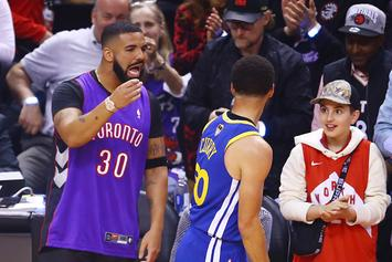 """Drake Continues Trolling Warriors On IG: """"Draymond Shouldn't Wear 23"""""""