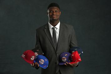 """Adam Silver's """"Bald Head Wisdom"""" For Zion Williamson Upon Meeting Him At Lottery"""