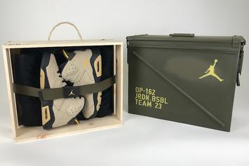 11 Of Jordan Brand's MLB Athletes Gifted Exclusive Air Jordan 6 PE