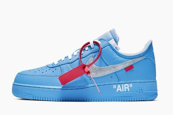 """Off-White X Nike Air Force 1 """"MCA"""" To Release In Coming Weeks: Report"""