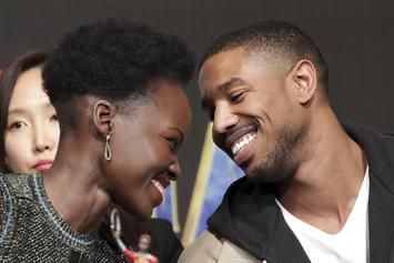 Lupita Nyong'o Flirts Hard With Michael B. Jordan & The Fans Are All For It