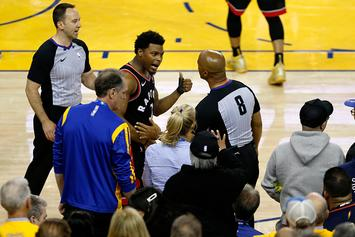 Fan Who Shoved Raptors' Kyle Lowry Is Warriors Part Owner: Report
