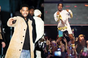 ASAP Rocky & Kid Cudi Could Be Doing A World Tour Together